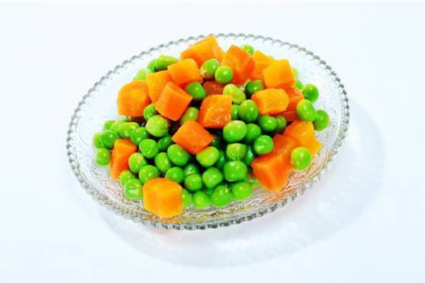 Mixed Canned Grean Peas With Carrot